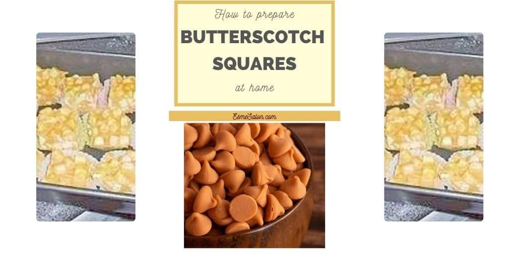 Butterscotch Squares