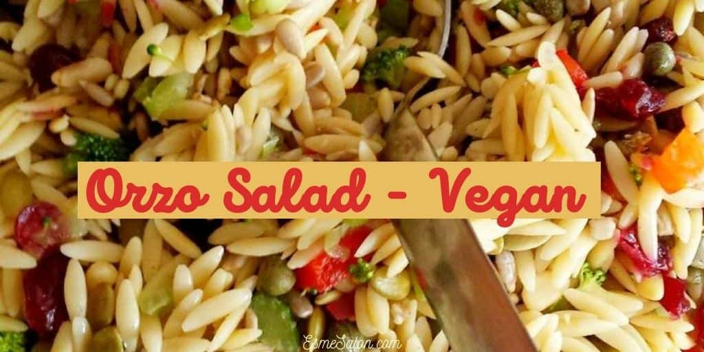 Orzo Vegan Salad