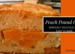 Peach Pound Cake