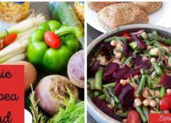 Veggie Chickpea Salad