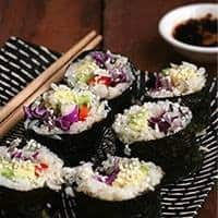 Cauliflower Rice Sushi