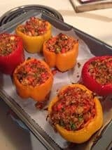 Greek Stuffed Peppers 2