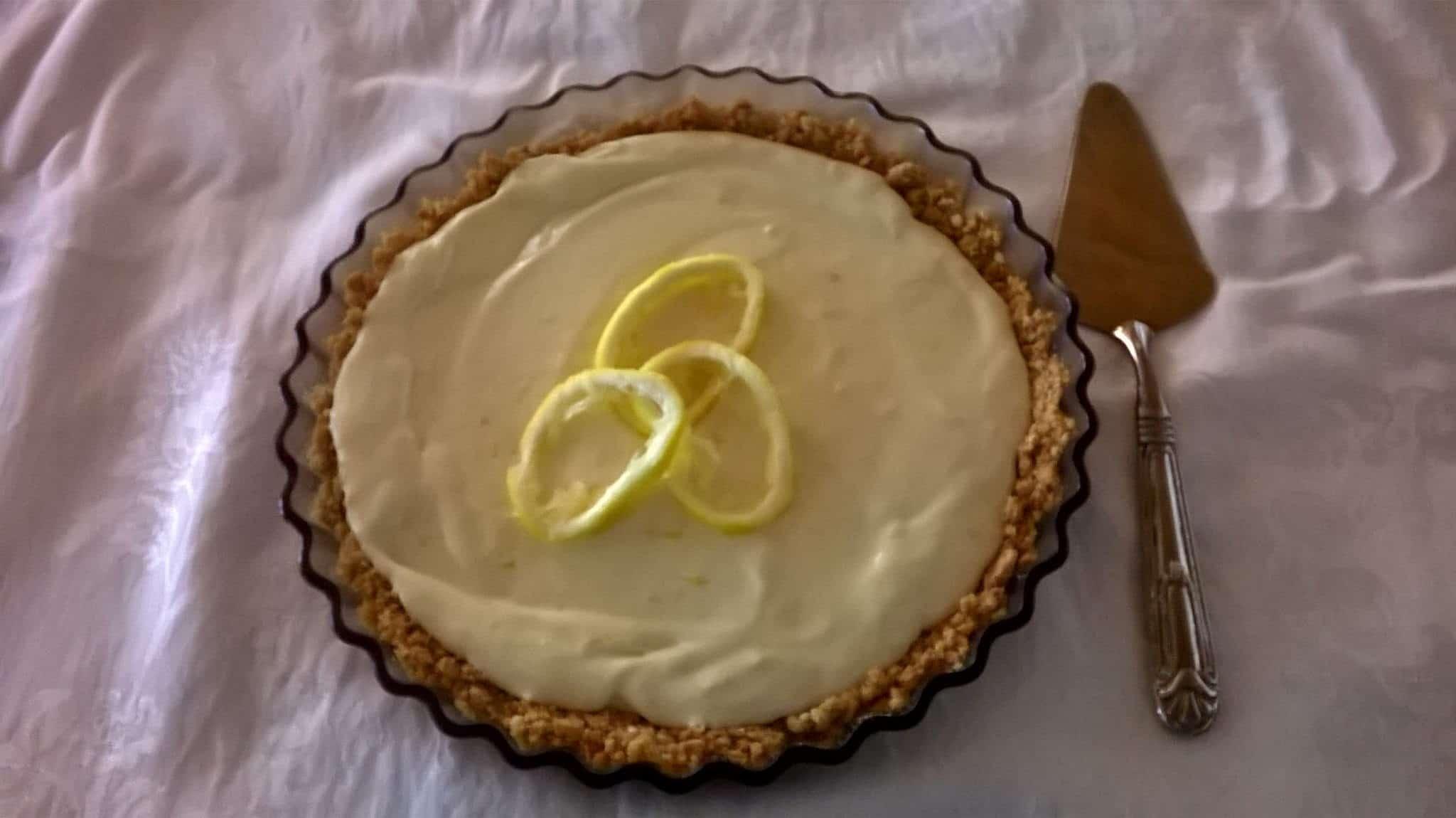 Lemon Flan