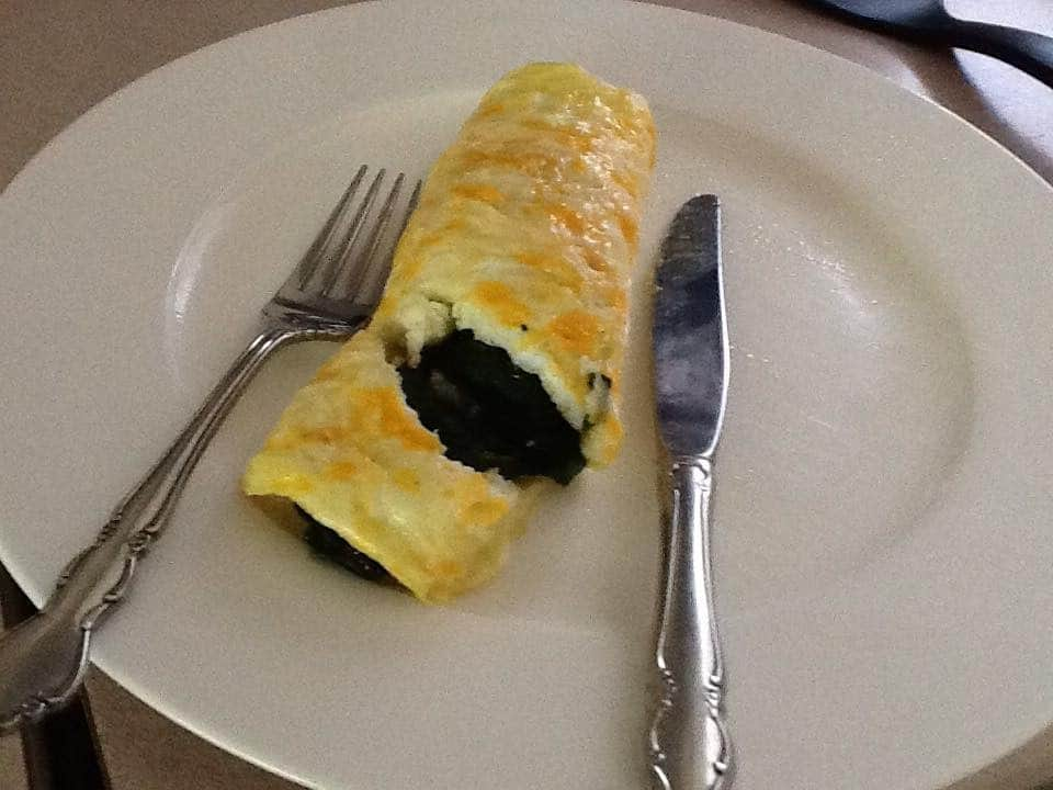 Quick & Easy Breakfast 'Roll-Up'