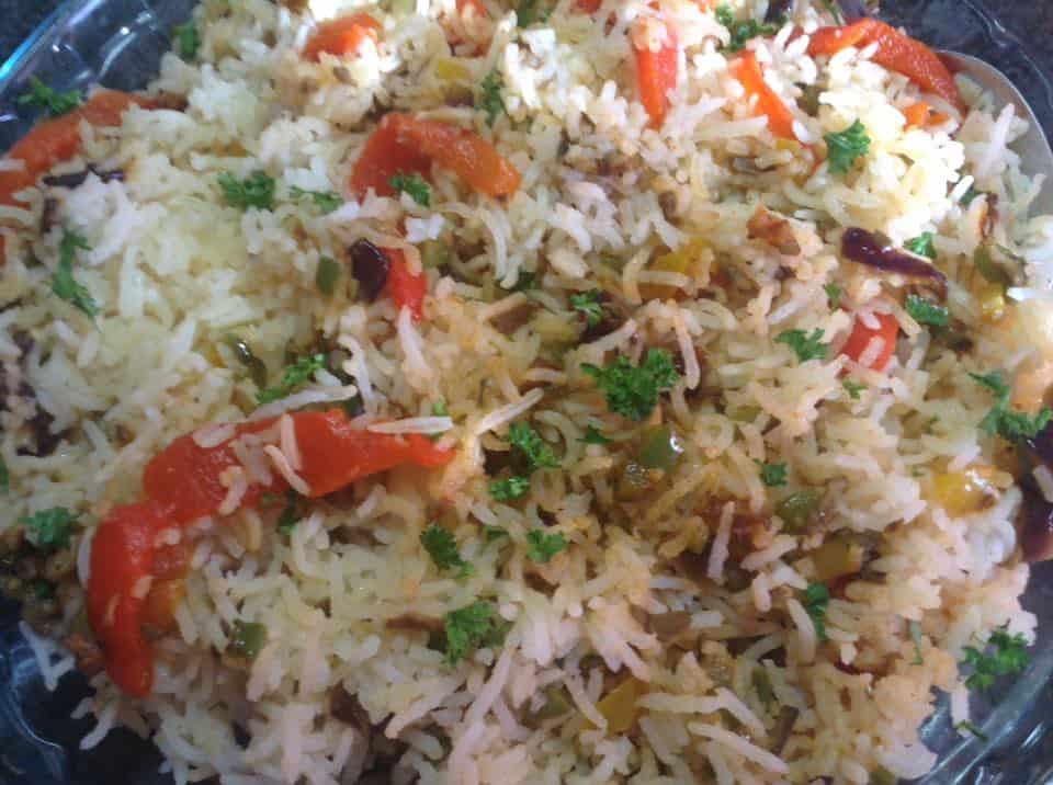 Savoury Basmati Rice
