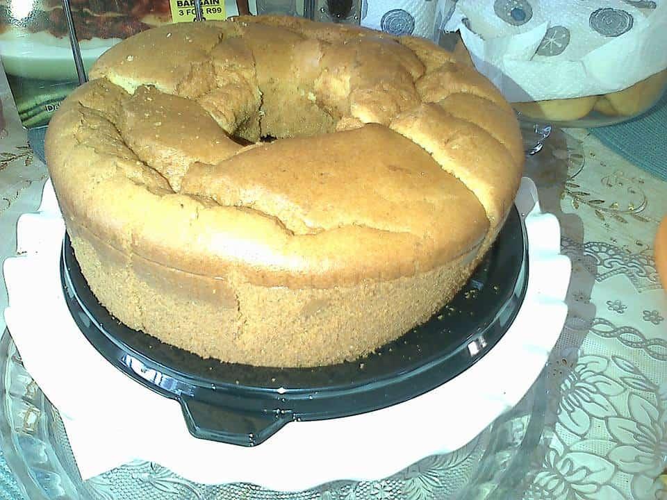 Orrange Chiffon Cake