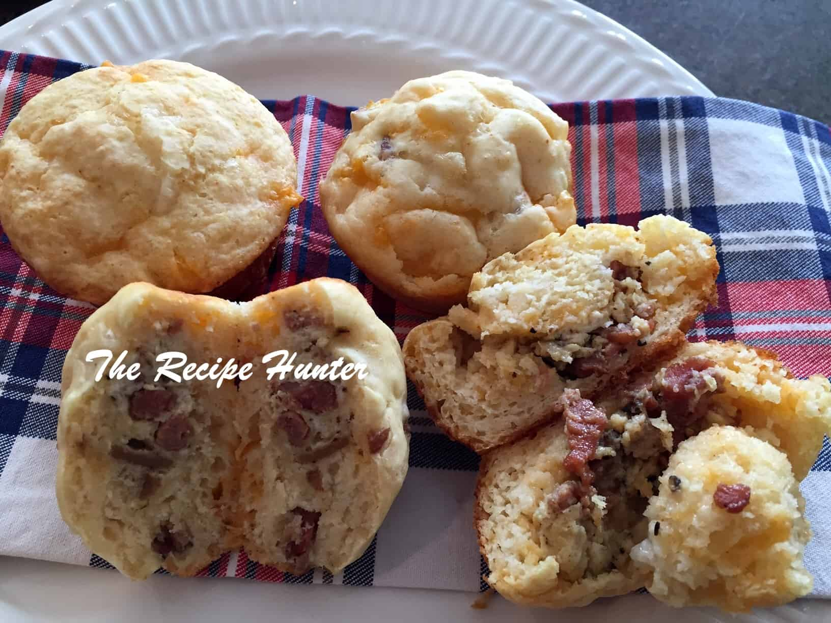 Scone with surprise filling