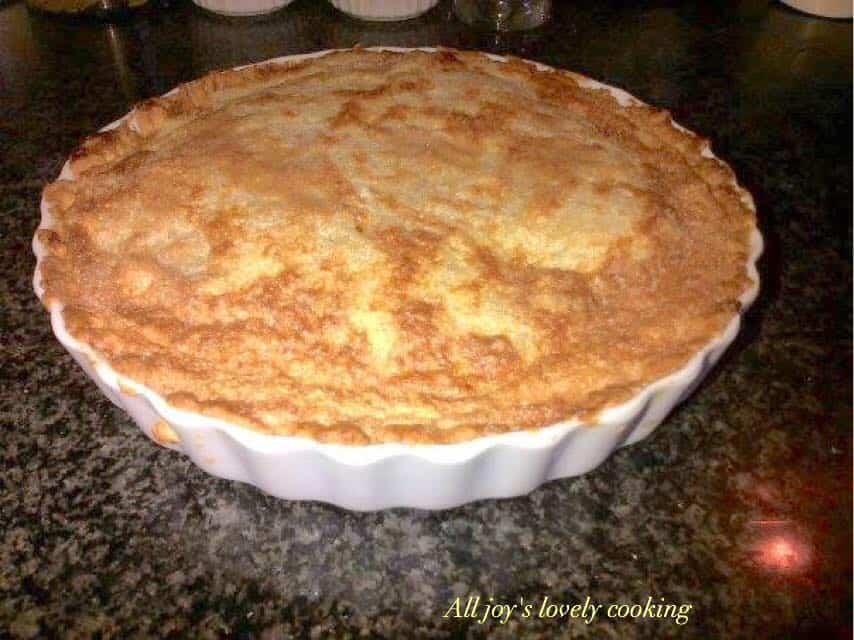 Classic cook milk tart