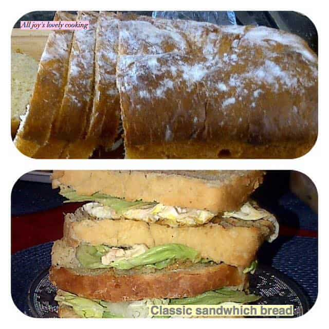 Home-Made classic sandwhich bread