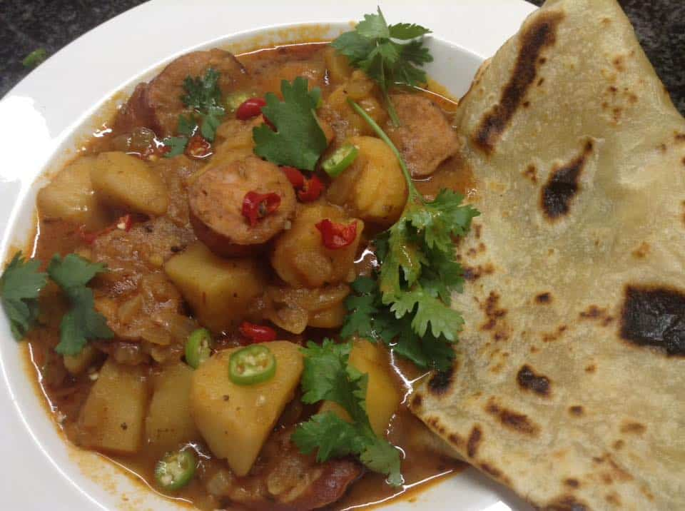 Hot Spicy Potato Goulash