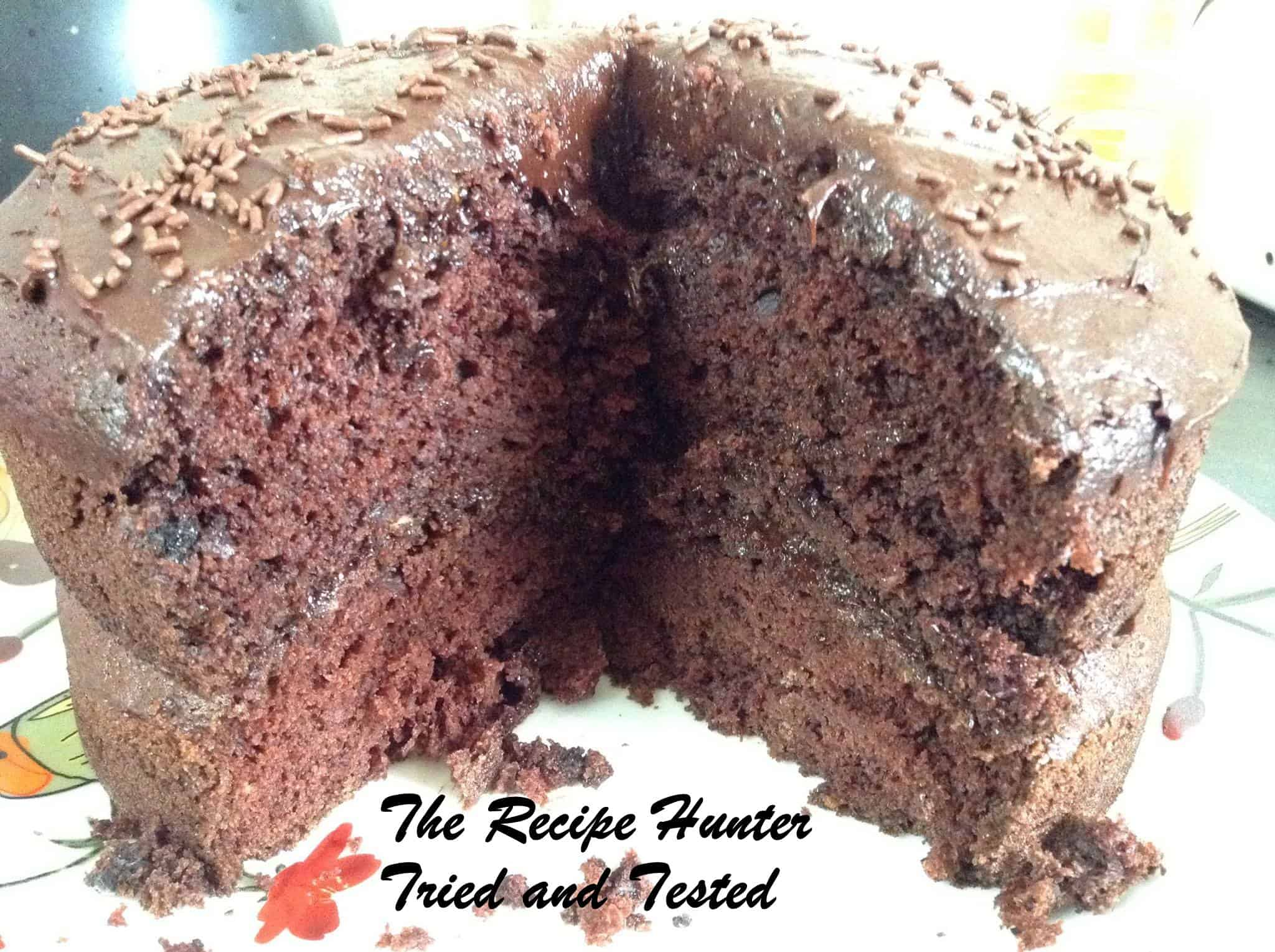 TRH Avocado chocolate cake with avocado frosting2