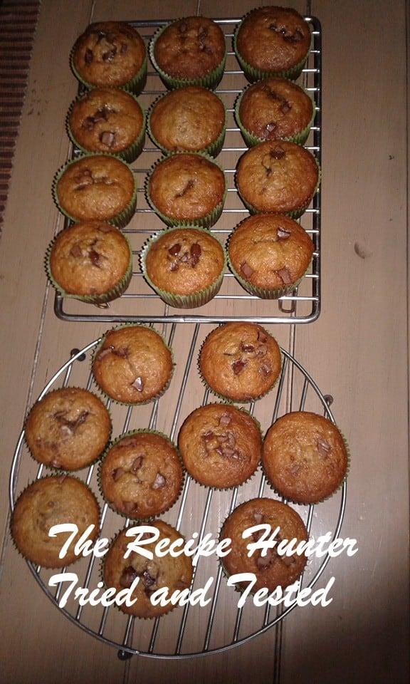 TRH Banana choc chip muffin