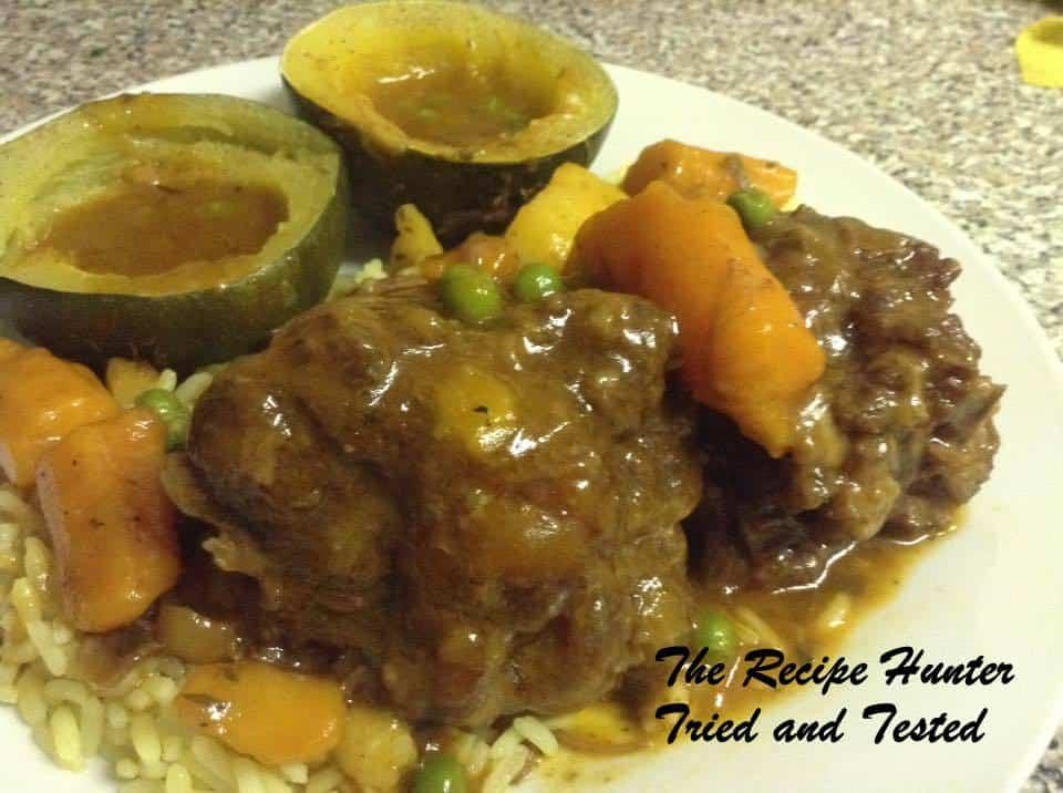 TRH Beef Oxtail Stew