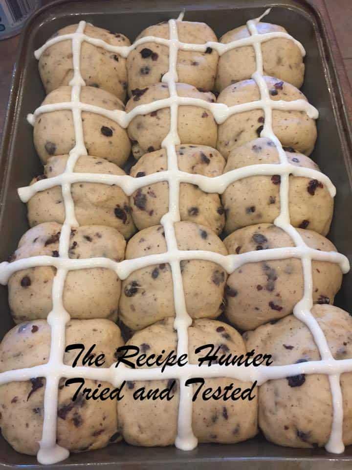TRH Bread Machine Hot Cross Buns1