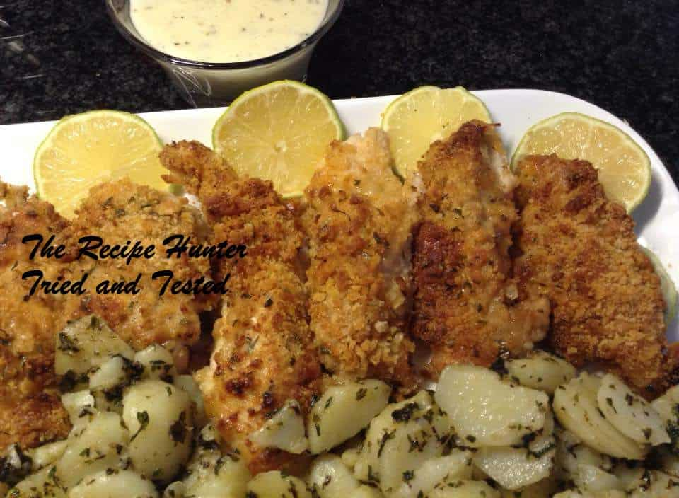 Cracker Crumbed Chicken Breasts