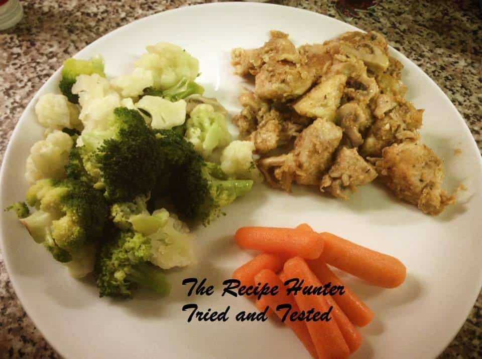 TRH Creamy crispy chicken and mushroom pan