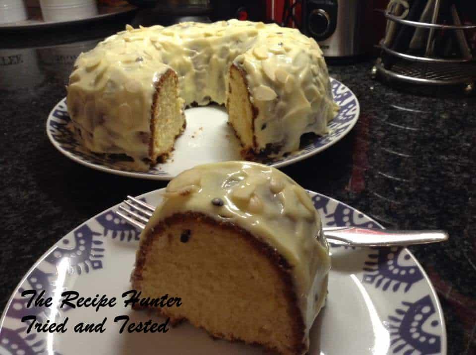 Granadilla Bundt Cake