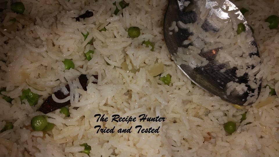 trh Peas rice