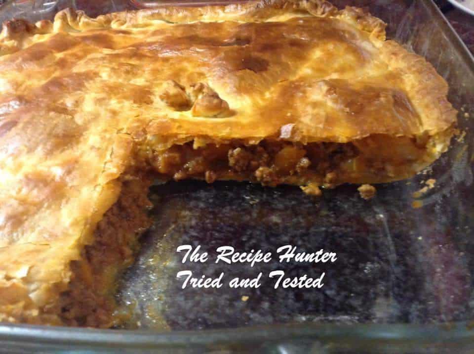 TRH Savoury Mince Pie