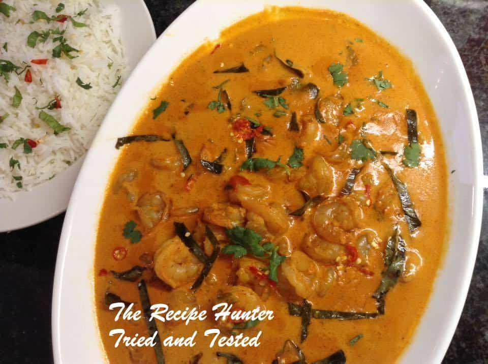 TRH Thai Red Prawn Curry