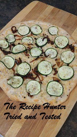 TRH Zucchini Flatbread