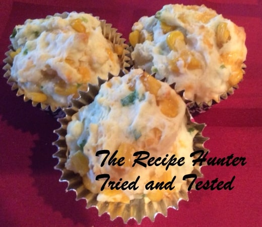 TRH CORN AND CHEESE MUFFINS
