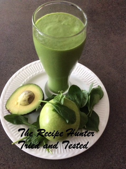 Green Apple and Avo smoothie