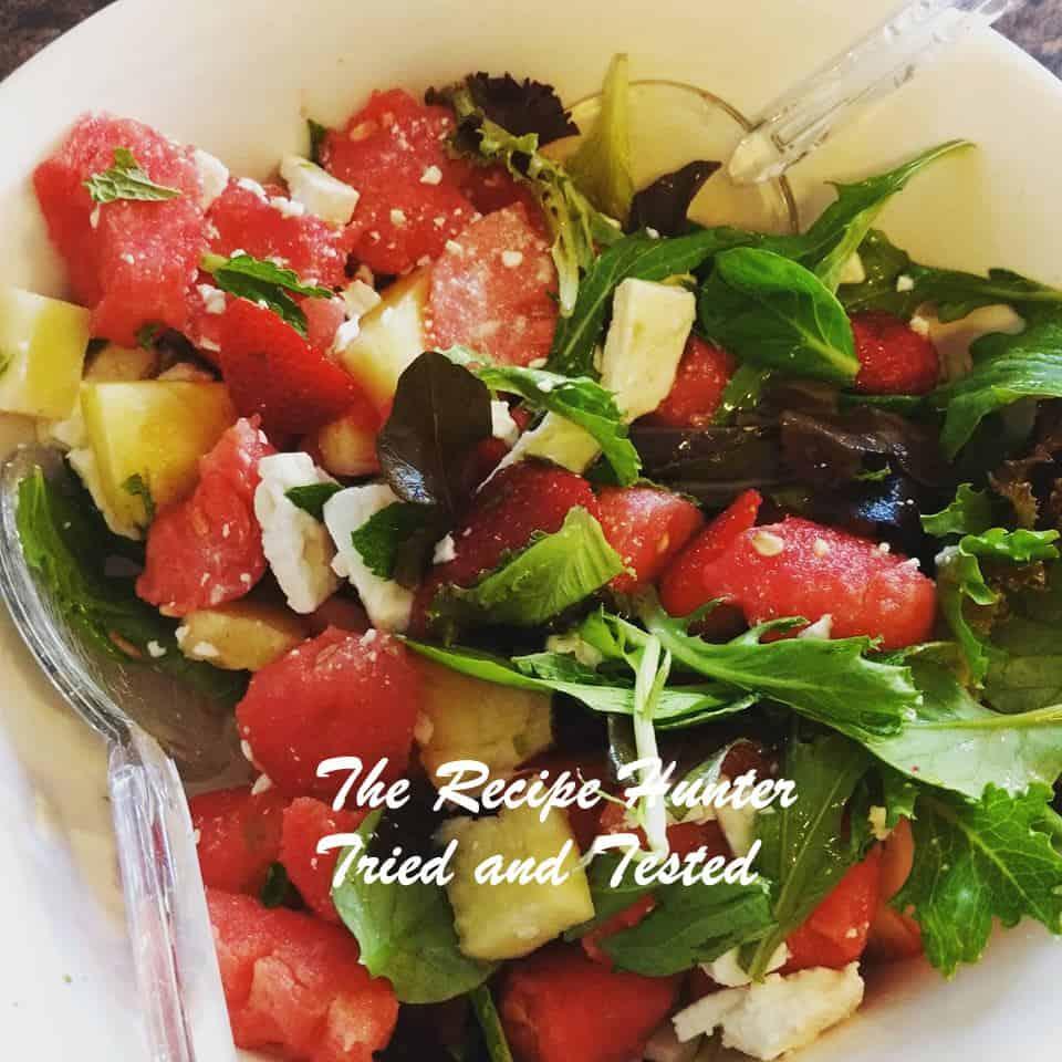 TRH Jane's watermelon salad