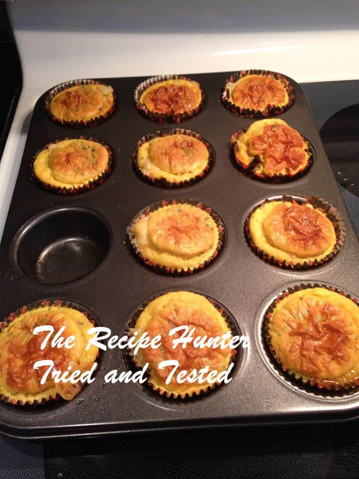 TRH Turmeric chilli gluten free cupcakes