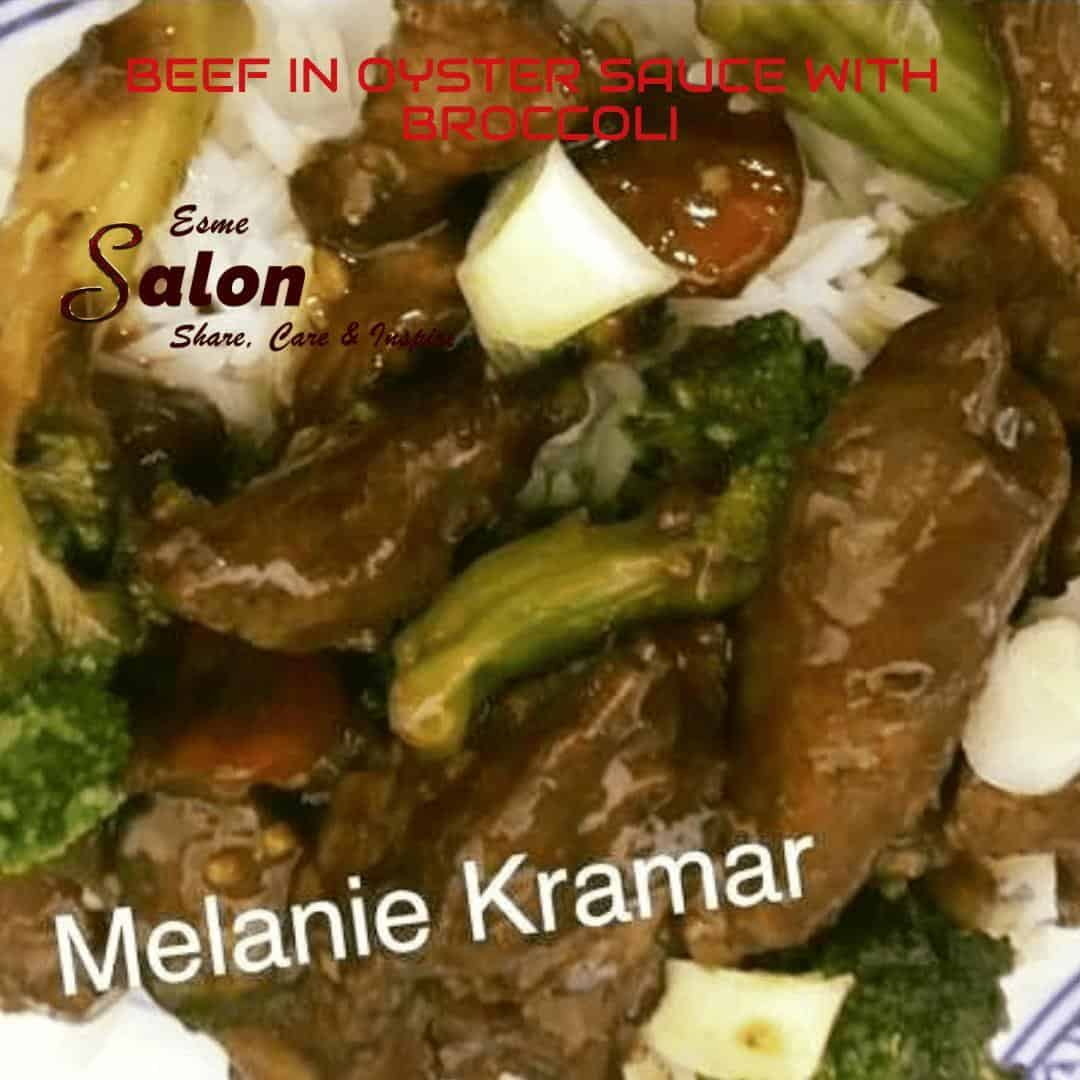 BEEF IN OYSTER SAUCE WITH BROCCOLI