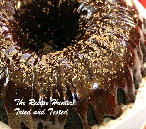 TRH Black Velvet Cake With A Dark Chocolate Ganache