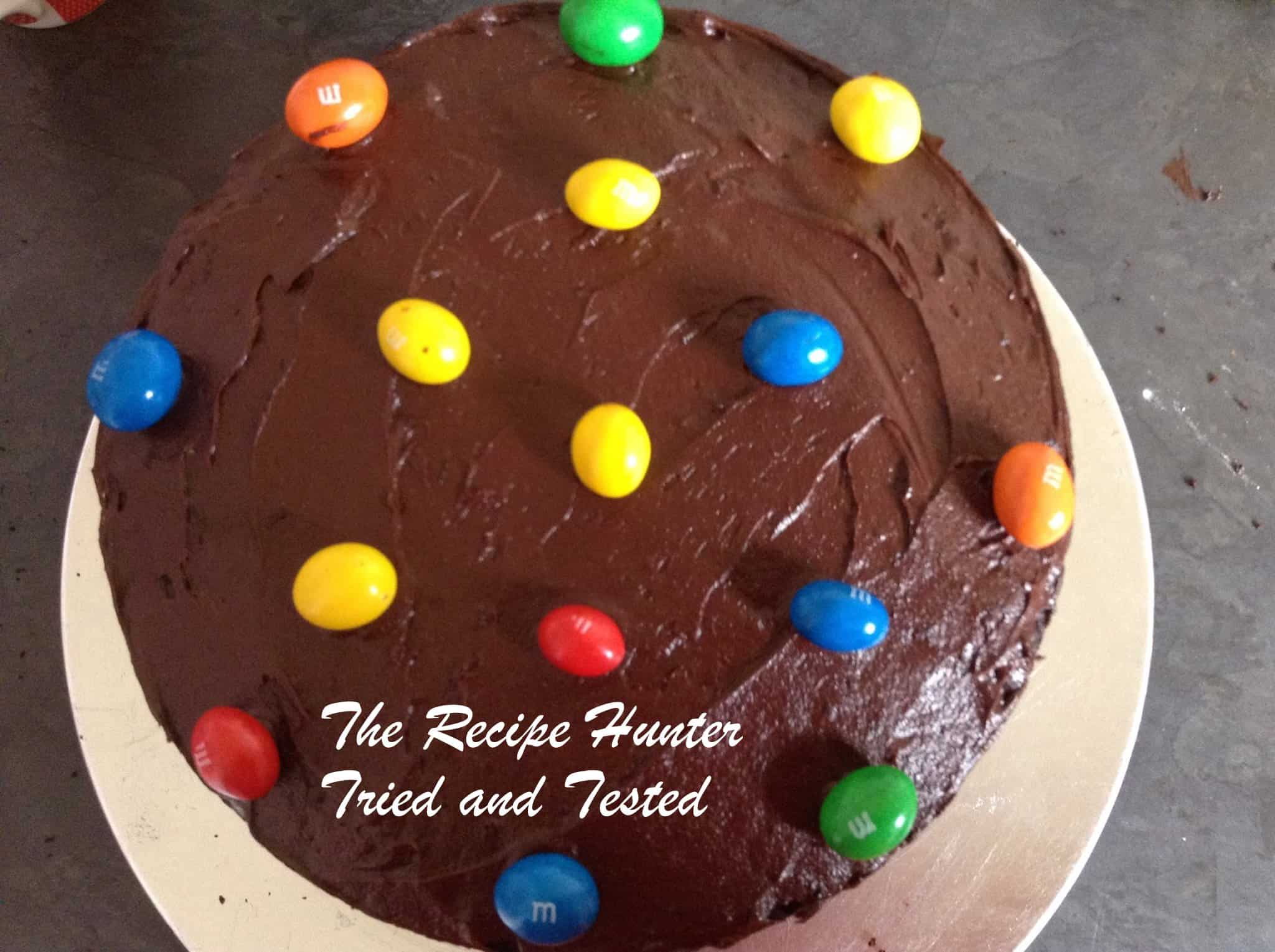 TRH Bobby's Eggless Chocolate surprise cake2