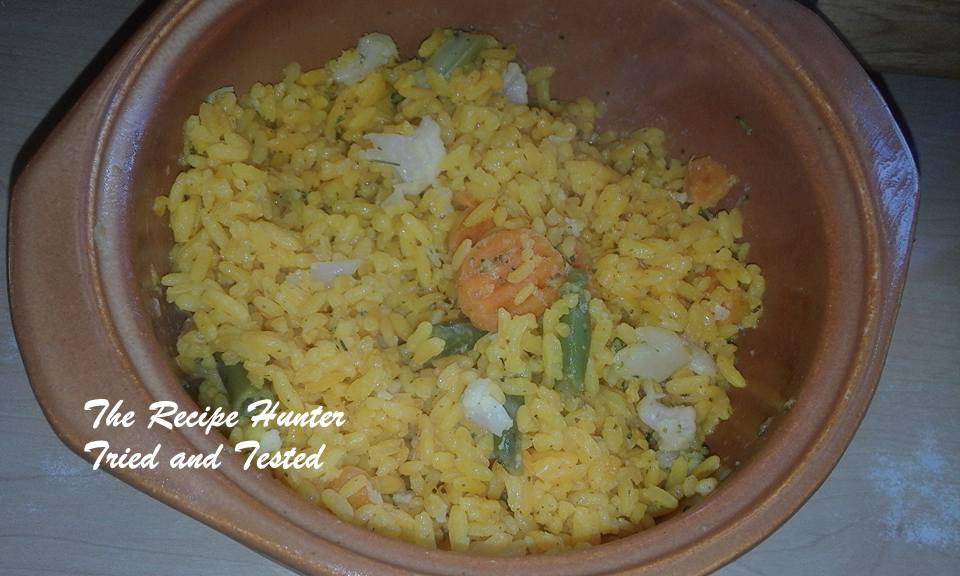 TRH Colleen's Veggie Rice
