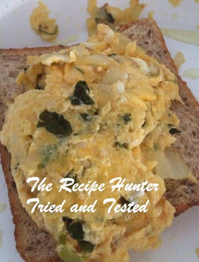 TRH Kamalini's Eggs on toast