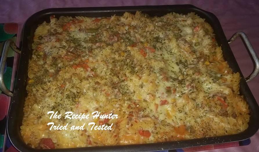 TRH Faye's Pasta Bake