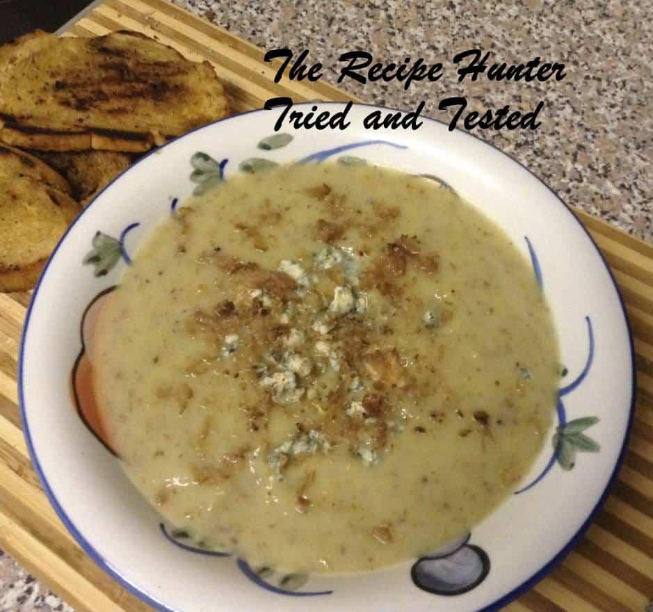 TRH Gail's Biltong, leek and sweet potato soup