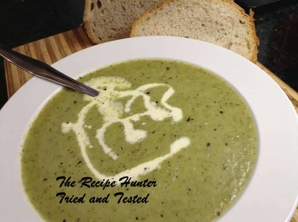 TRH Gail's Broccoli Soup