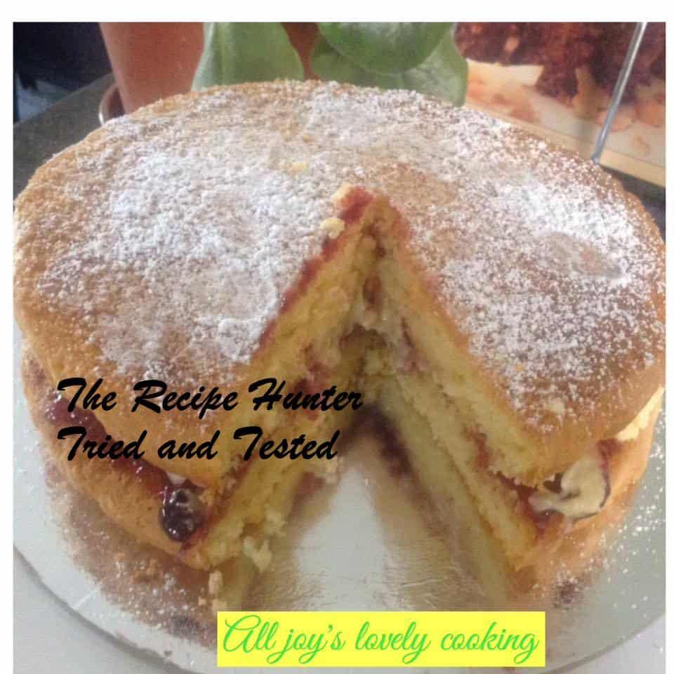 TRH Joy's Victoria Sponge Sandwich