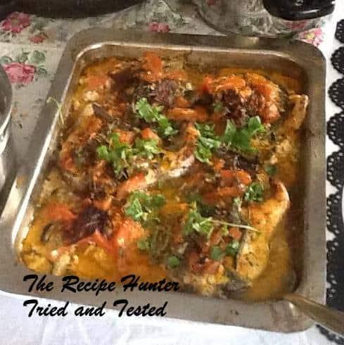 TRH Kamalini's Oven baked Fish Kingklip