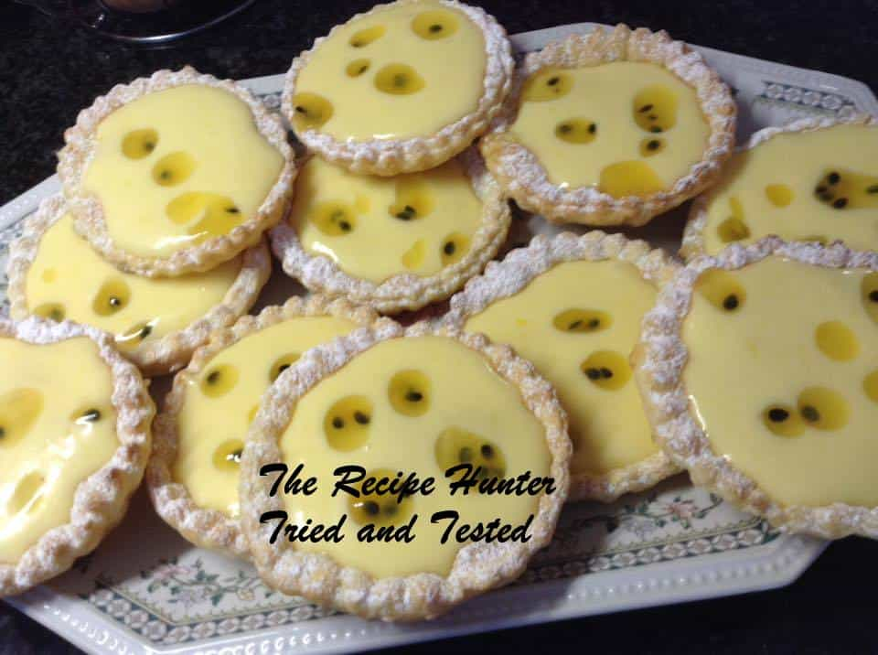 TRH Lemon Custard Tarts