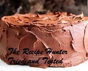 TRH Marietjie's Best Chocolate Cake