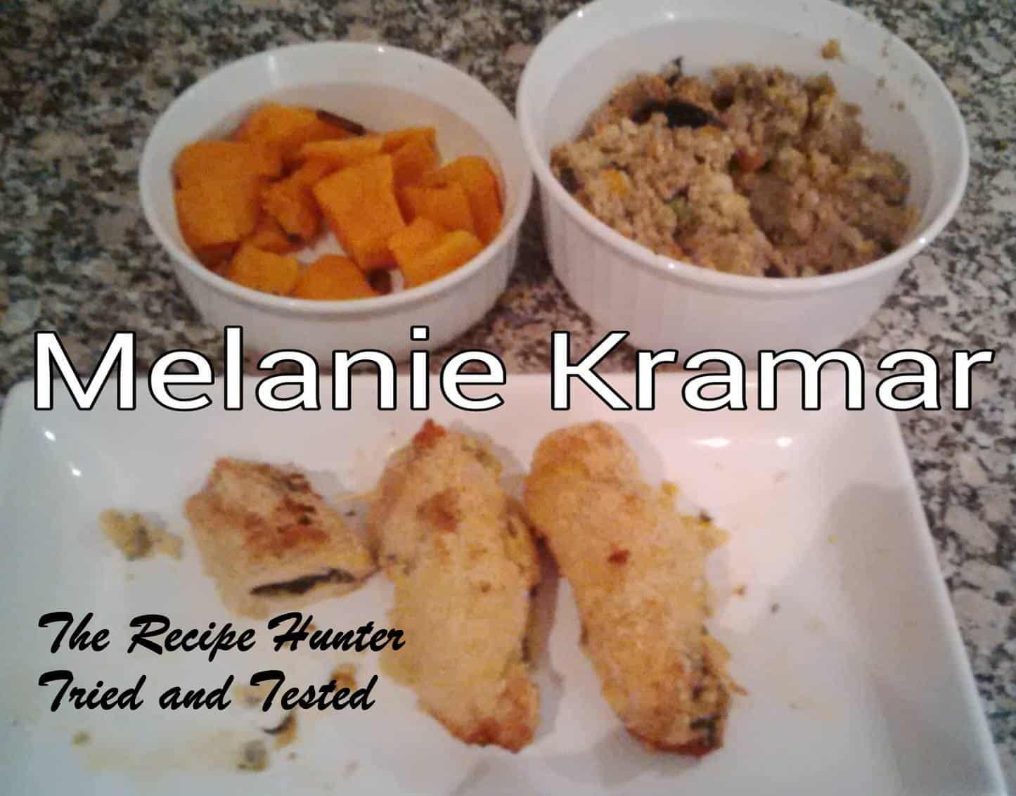 TRH Melanie's Chicken Breasts Stuffed with Spinach & Fetta