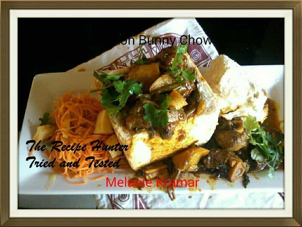 TRH Melanie's Mutton Lamb Curry Bunny Chow