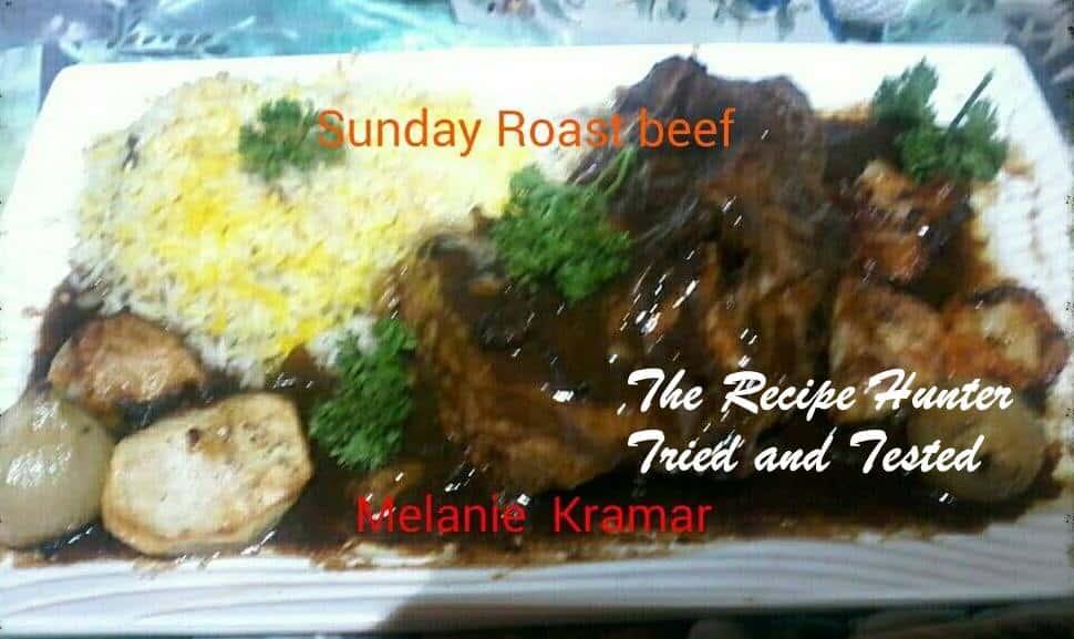 Melanie's Roast Beef Sirloin with Rice
