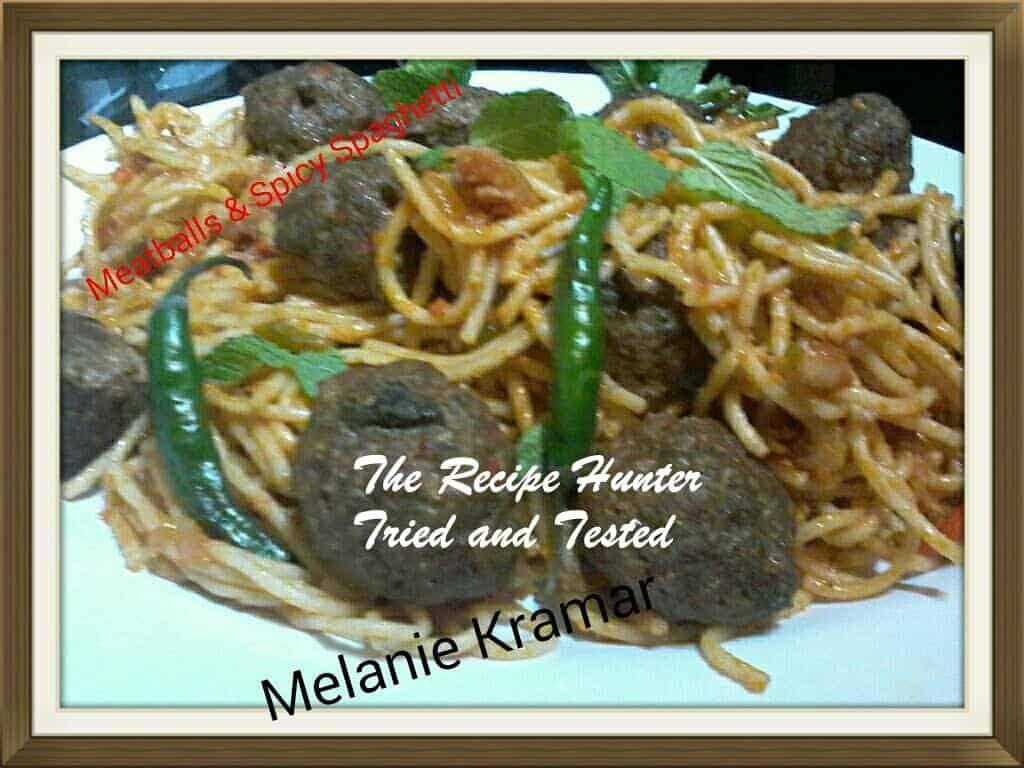 TRH Melanie's Spicy Spaghetti