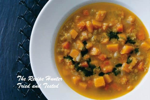 Mona's Curried-Squash and Red-Lentil Soup
