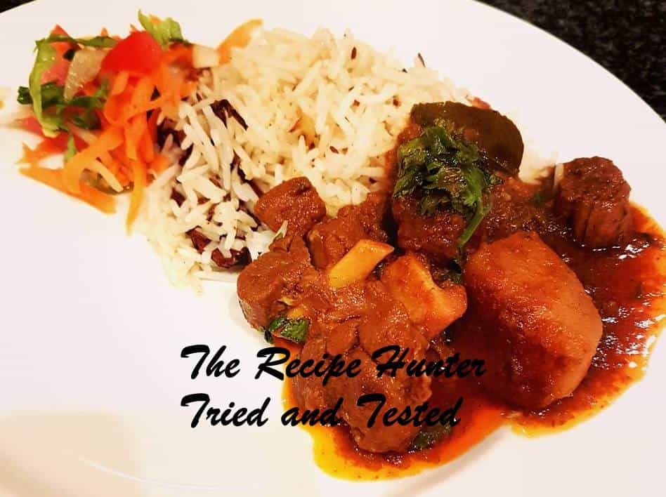 TRH Niki's Taditional Lamb Curry
