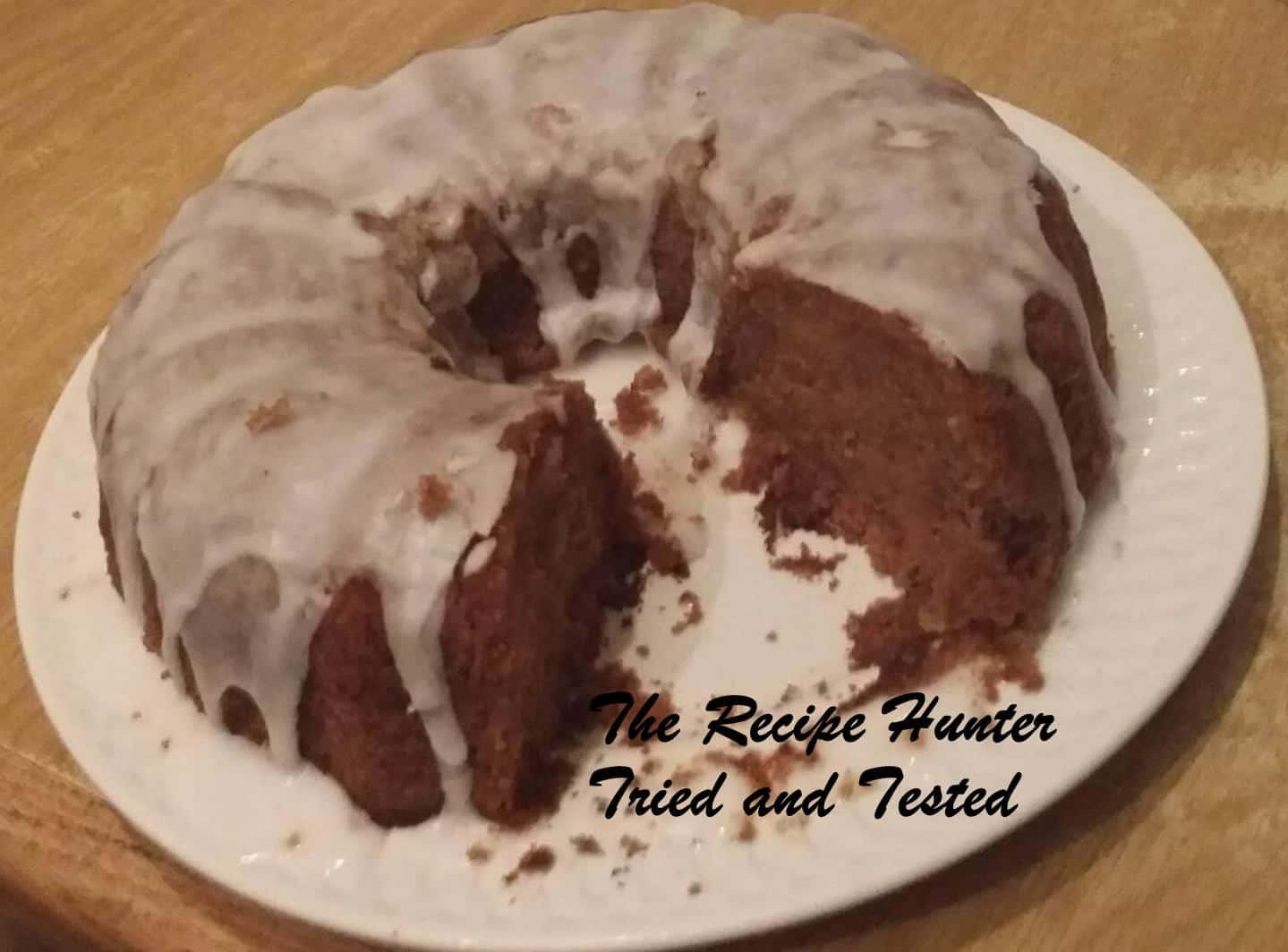 TRH Roshan's Carrot Cake