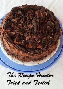 TRH Sybil's Sybils chocolate coffee carrot oreo cake
