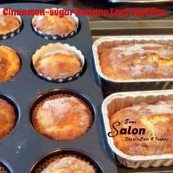 Cinnamon-sugar Banana Loaf Muffins